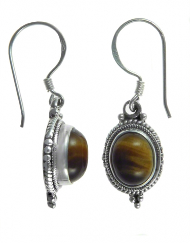 This earring style is available in Chrysocolla