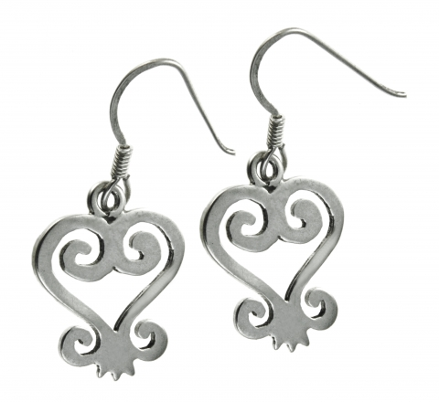Sterling Silver African symbols
